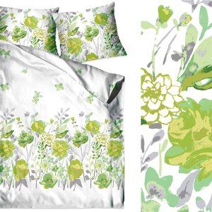 Bawełna Flo zielona